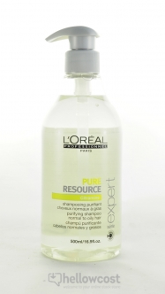 L'oreal Professionnel Shampooing Pure Resource 500 ml - Hellowcost