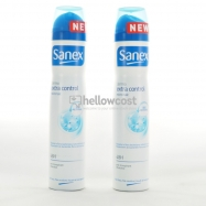 Sanex Deodorant Spray Extra Control 2 X 250 ml - Hellowcost