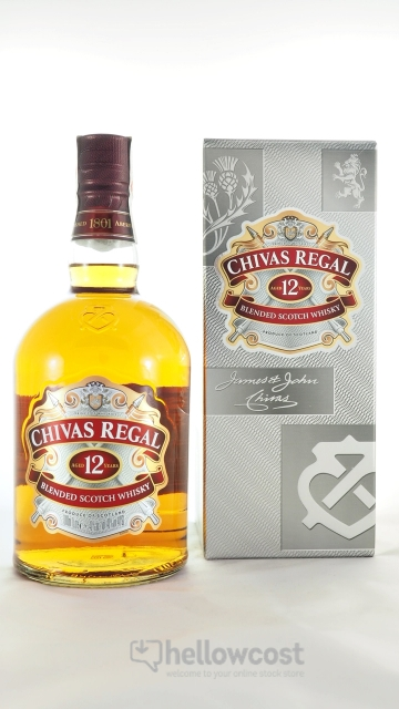 Chivas Regal 12 Years Whisky 40º 1 Litre