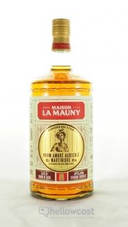 La Mauny Ambre Rhum Agricole 40º 1 Litre - Hellowcost