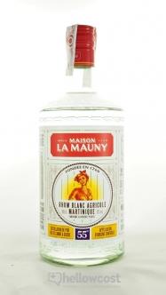 La Mauny Rhum Blanc Agricole 50º 1 Litre - Hellowcost