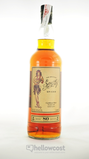 Sailor Jerry Spiced Rhum 40º 70 cl
