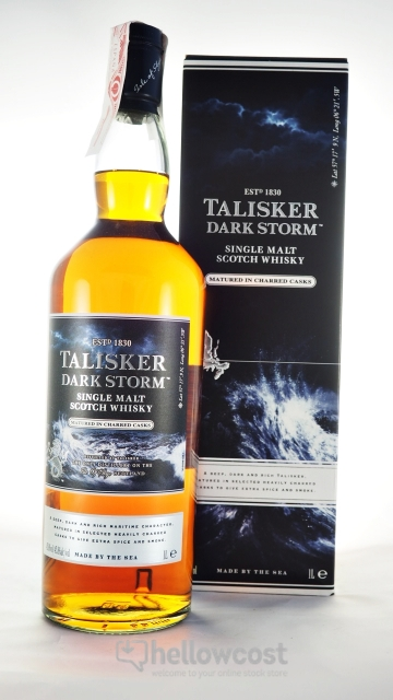 6aaf9451c Talisker Dark Storm Whisky 45.8% 100 cl - Hellowcost