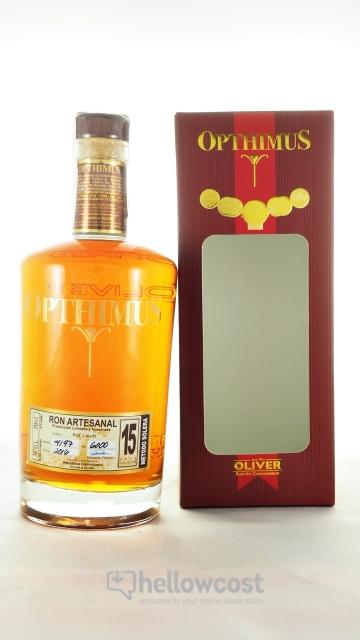 Opthimus 15 Years Rhum 38º 70 Cl