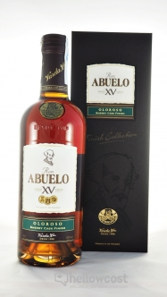 Abuelo 15 Years Napoleon Rhum 40% 70 cl - Hellowcost