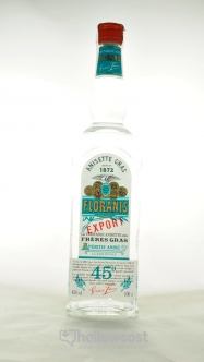 Floranis Anisette Gras 45º 1 Litre - Hellowcost
