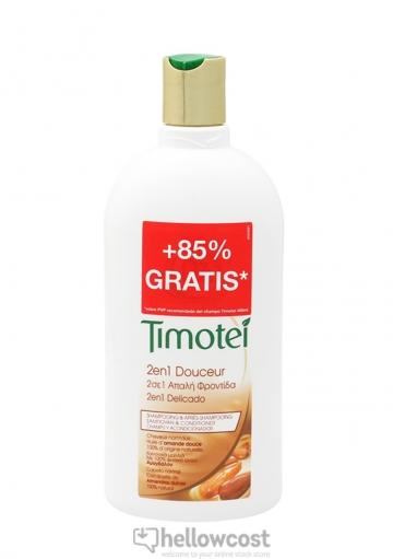 Timotei Shampoing Apres Shampooing 2 En 1 Douceur 750ml