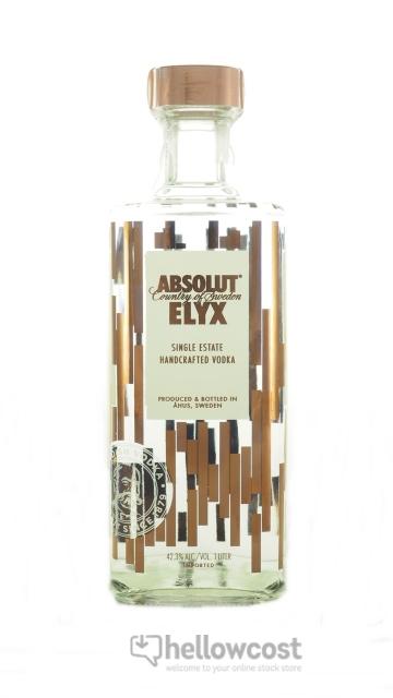 Absolut Elyx Vodka 42.6% 100 cl