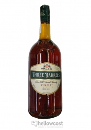 Three Barrels V:S:O:P: Brandy 38% 100 cl - Hellowcost