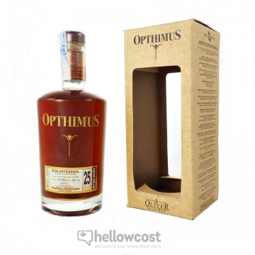 Opthimus 25 Years Rhum 38º 70 Cl