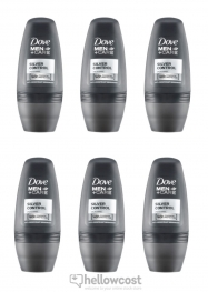 Dove Deo Roll-On Men Silver Control 6X50 ml - Hellowcost