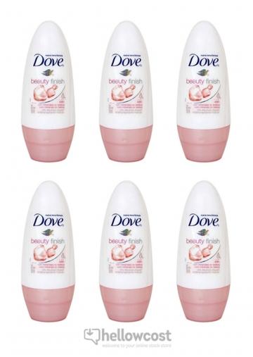 Dove Deodorant Beauty Finish Bille 6x50 ml