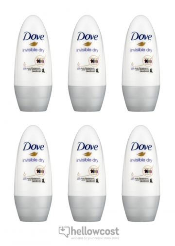 Dove Deodorant Invisible Dry Bille 2x50 ml
