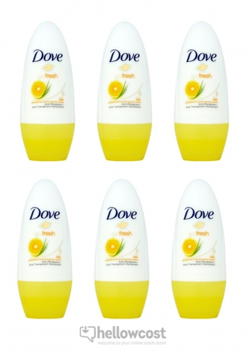 Dove Deodorant Go Fresh Grapefruit bille 2x50 ml