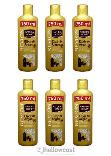 Natural Honey Gel Douche A L'uhile D'argan 6X750 ml
