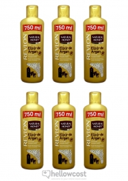 Natural Honey Gel Douche A L'uhile D'argan 6X750 ml - Hellowcost