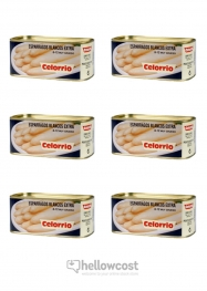 Celorrio Esparragos Blancos 17-24 Medio Peso Neto 660 gr peso Escurrido 425 gr - Hellowcost
