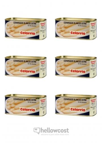 Arperges Blanches Celorrio 13-16 Tres Grosses Poids Net 660 gr Poids Net Égoutté 425 gr