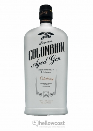 Colombian Black Aged Gin 43% 70 cl - Hellowcost