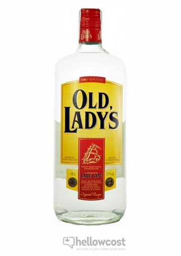 Old Ladys Dry Gin 37.5º 1 Litre