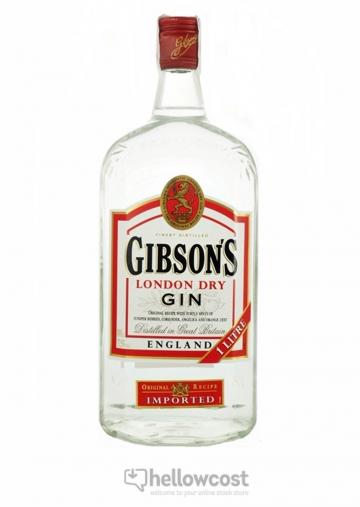 Gibsons Dry Gin 37.5º 1 Litre