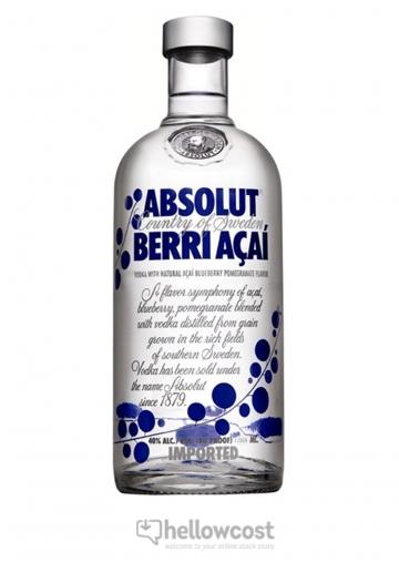 Absolut Berri AÇai Vodka 40% 100 cl