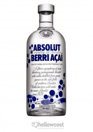 Absolut Berri AÇai Vodka 40% 100 cl - Hellowcost