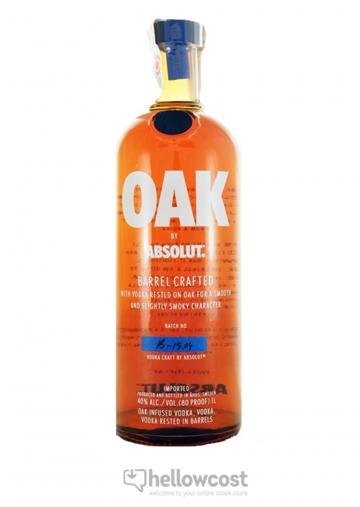 Absolut Oak Barrel Crafted Vodka 40% 100 cl