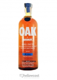 Absolut Oak Barrel Crafted Vodka 40% 100 cl - Hellowcost