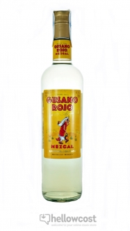 Gusano Rojo Mezcal 100% Agave 38% 70 Cl - Hellowcost