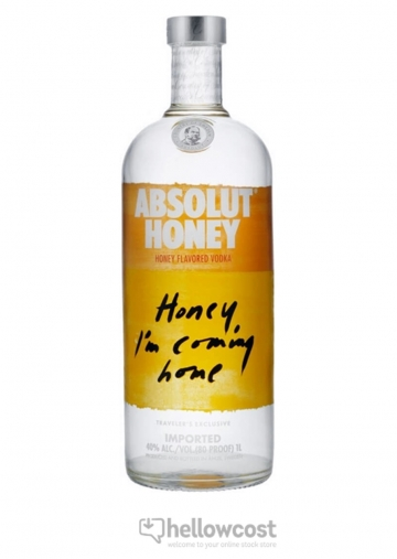 Absolut Honey Vodka 100 cl