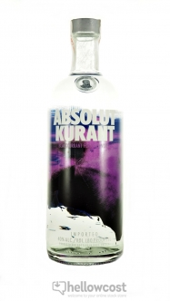 Absolut Kurant Vodka 40% 1 Litre - Hellowcost