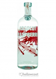 Absolut Raspberri Vodka 40% 1 Litre - Hellowcost