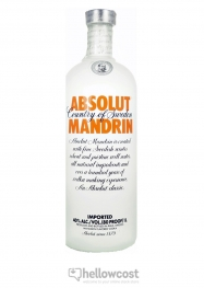 Absolut Mandrin Vodka 40% 1 Litre - Hellowcost