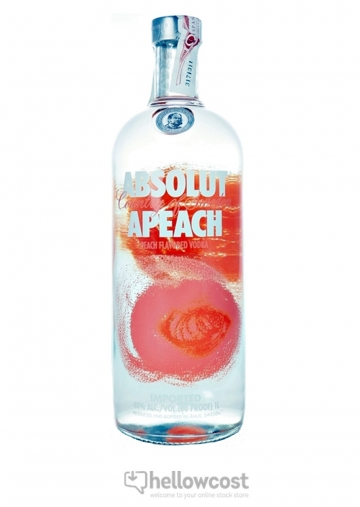 Absolut Apeach Vodka 40% 1 Litre
