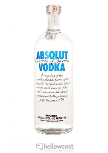 Absolut Vodka 40º 1 Litre