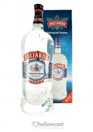 Poliakov Vodka 37,5% 450 cl - Hellowcost