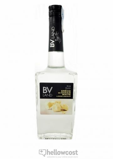 Crème De Cacao White Liqueur Bv Land 18º 70 Cl