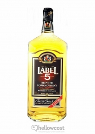 Label 5 Magnum Whisky 40º 2 Litres - Hellowcost