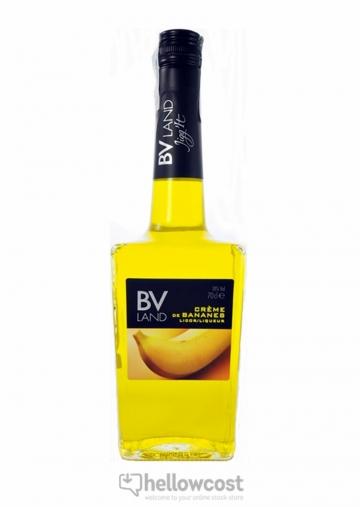 Crème De Bananes Liqueur Bv Land 18º 70 Cl