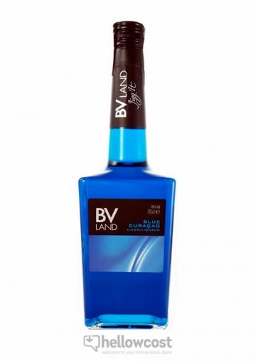 Blue Curaçao Liqueur Bv Land 18º 70 Cl