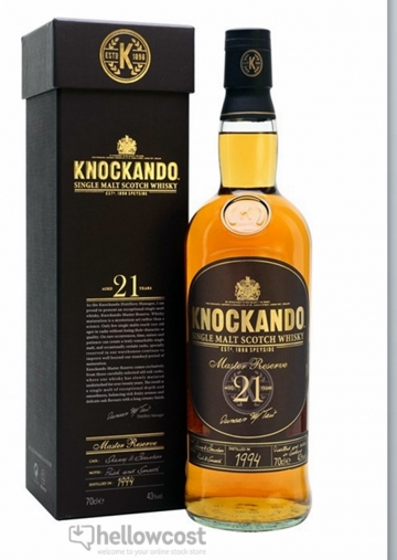 Knockando 21 Ans Whisky 43% 70 Cl