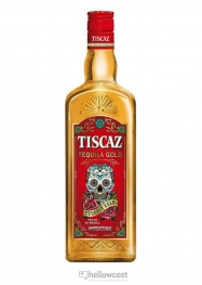 Tiscaz Gold Tequila 35% 70 cl - Hellowcost