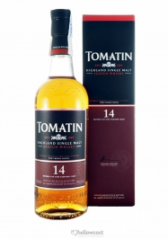 Tomatin 12 Years Bourbon & Sherry Cask Whisky 43% 100 cl - Hellowcost
