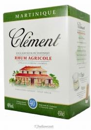 Clement Rhum Blanc 50% Box 300 cl - Hellowcost