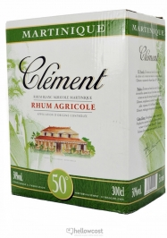 Clement Rhum Blanc 40% Box 450cl - Hellowcost