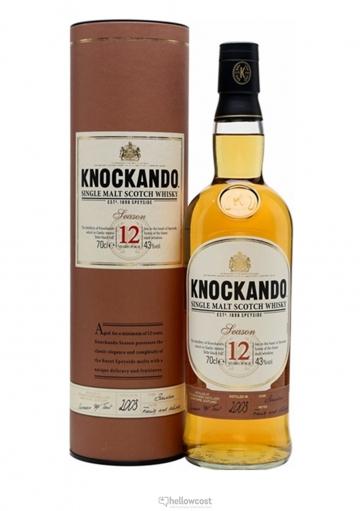 Knockando 12 Years Malt Whisky 43º 70 Cl