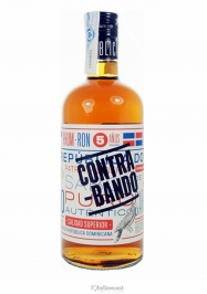 Contrabando Rhum Añejo 5 Years 38% 70 cl - Hellowcost