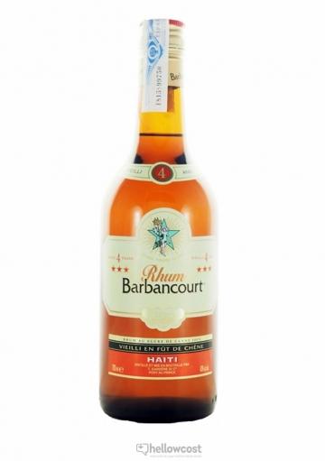 Barbancourt 4 Ans Rhum 43% 70 cl