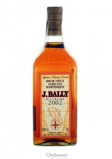 J.Bally Millesime 2002 Rhum 43% 70 cl